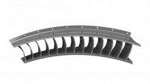 Stator Vane Segment (Additive Manufactured Component)